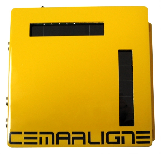 custom laser for vehicle positioning system