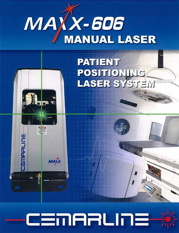 Maxx-600 Manual Laser patient positioning system