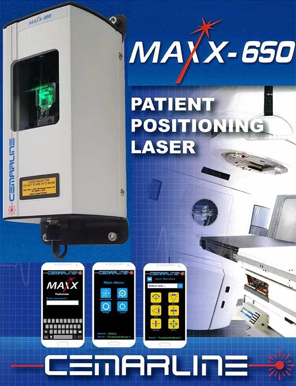 Maxx-650 Patient Positioning Laser